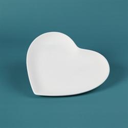 PLATES Small Heart Plate/12 SPO