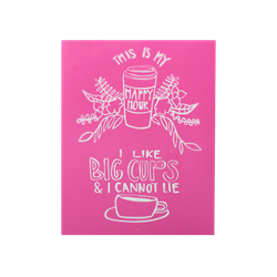 Big Cups Silkscreen/1 SPO