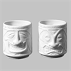 MUGS Tiki Cups, 2 Designs/4 SPO