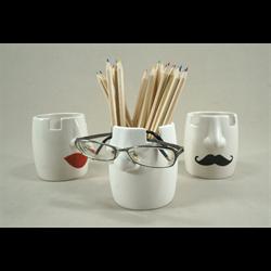 HOME DÉCOR Eyeglass and Pencil Holder/6 SPO