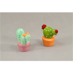 KITCHEN Cactus Salt & Pepper Shakers/12 SPO
