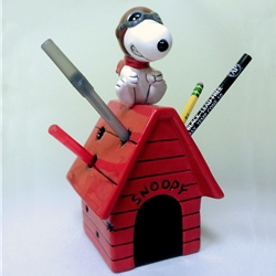 HOME DÉCOR FLYING ACE PENCIL HOLDER/PNX003/6