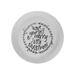 PLATES Have Yourself a Merry Little Christmas Plate/6 SPO