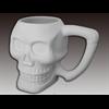 MUGS Skull Mug/4 SPO