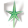 MED STARS RED (Pkg. of 5)