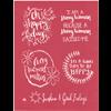 Positive Sayings Silkscreen/1 SPO