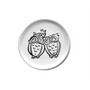 PLATES Love Owls Plate/6 SPO