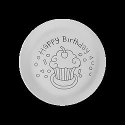 PLATES Happy Birthday Plate/6 SPO