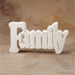 TILES, ETC. FAMILY WORD PLAQUE/6 SPO
