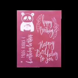 Birthday Surprise Silkscreen/1 SPO