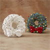 SEASONAL LIGHT-UP WREATH/4 SPO