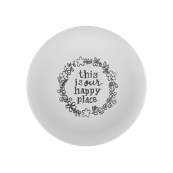 PLATES Happy Place Plate/6 SPO