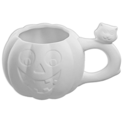 SEASONAL Halloween Pumpkin Mug/4 SPO