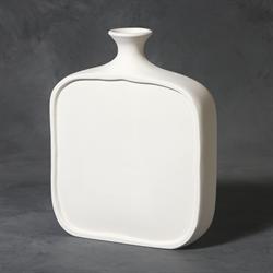 Flat Bottle Vase - Medium (Casting Mold) SPO