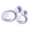 "WHITE RUBBER STOPPER 1-5/8"" (Pkg. of 10)"