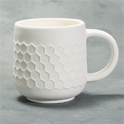 STONEWARE Honey Comb Mug/6