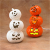 SEASONAL STACK OF LIGHT-UP JACK-O-LANTERNS/4 SPO