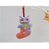 SEASONAL Cute Owl Ornament/12 SPO