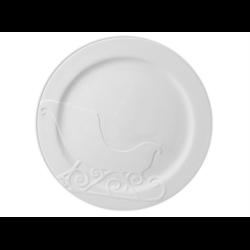 PLATES Rim Sleigh Plate/4 SPO
