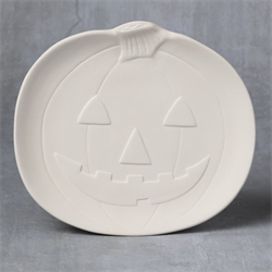 SEASONAL LARGE PUMPKIN PLATE/6 SPO
