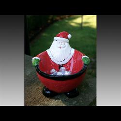 SEASONAL Fat Santa Bowl/4 SPO