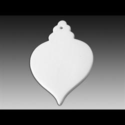 SEASONAL Big Flat Fancy Ornament/12 SPO