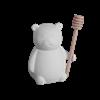 KITCHEN Teddy Bear Honey Pot/4 SPO