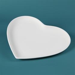 PLATES Large Heart Plate/12 SPO