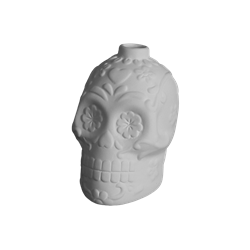 SEASONAL Day of the Dead Skull Ornament/9 SPO