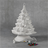 "SEASONAL 14"" Christmas Tree w/ Base/2 SPO"