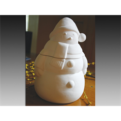 SEASONAL Snowman Jar/1 SPO