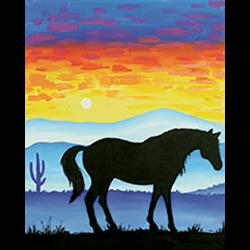 Pattern Pack - Desert Horses I/1 SPO