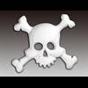 ADD-ONS Pirate Skull//12 SPO