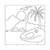Reusable Pattern (6 pack) -Dinosaur Kingdom/1 SPO
