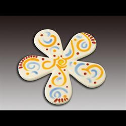 TILES & PLAQUES. Flower Tile/12 SPO