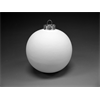 SEASONAL Silver Cap Ball Ornament/8 SPO