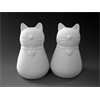KITCHEN Whiskers Salt and Pepper Set/4 SPO