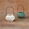 HOME DÉCOR HANGING LANTERN W/ WIRE HANDLE/8 SPO
