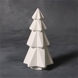 "SEASONAL 7"" Faceted Tree/6 SPO"