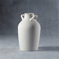 HOME DÉCOR DOUBLE HANDLED VASE/6 SPO
