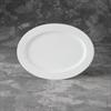 PLATES Rimmed Oval Platter/6 SPO