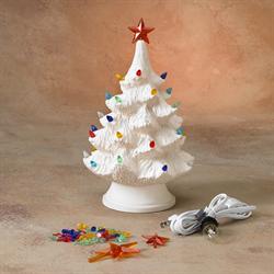 "9.5"" CHRISTMAS TREE (with base & light kit)/2 SPO"
