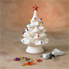 "SEASONAL 9.5"" CHRISTMAS TREE (with base & light kit)/2 SPO Out for the Season 20"
