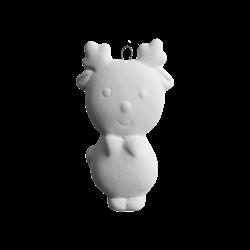 SEASONAL Jolly Rudolph Ornament/24 SPO