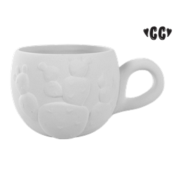 MUGS Prickly Pear Cactus Mug/4 SPO