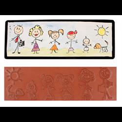 Stick Family Stamp SPO