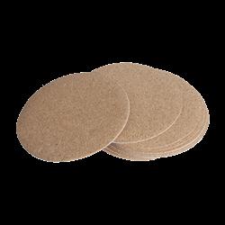 "Self-Adhesive Cork Backing - 3.5"" Circle/12 SPO"