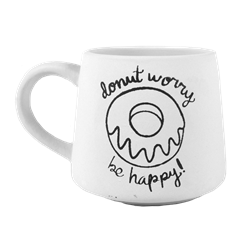 MUGS Donut Worry Mug/4 SPO