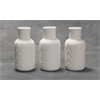 HOME DÉCOR Textured Bud Vases (2 Each of 3 Designs)/6 SPO