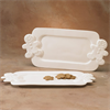SEASONAL GINGERBREAD HANDLED PLATTER/4 SPO